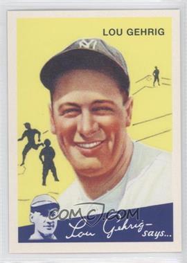 2011 Topps CMG Worldwide Vintage Reprints #CMGR-24 - Lou Gehrig