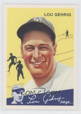 2011 Topps CMG Worldwide Vintage Reprints #CMGR-24 - Lou Gehrig