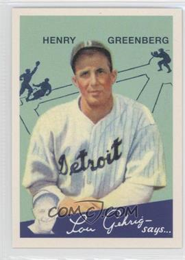 2011 Topps CMG Worldwide Vintage Reprints #CMGR-3 - Hank Greenberg