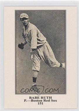 2011 Topps CMG Worldwide Vintage Reprints #CMGR-4 - Babe Ruth