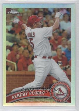 2011 Topps Chrome - [Base] - Refractor #150 - Albert Pujols