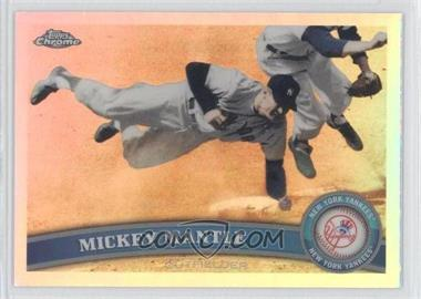 2011 Topps Chrome - [Base] - Refractor #7 - Mickey Mantle
