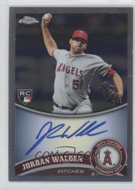 2011 Topps Chrome - [Base] - Rookie Autographs Refractor [Autographed] #183 - Jordan Walden /499