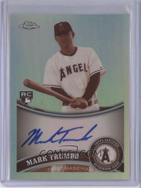2011 Topps Chrome - [Base] - Rookie Autographs Sepia Refractor [Autographed] #178 - Mark Trumbo /99