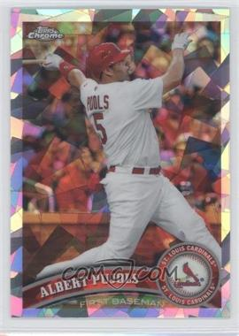 2011 Topps Chrome Atomic Refractor #150 - Albert Pujols /225