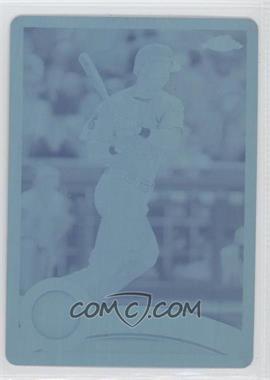 2011 Topps Chrome Printing Plate Cyan #86 - Drew Stubbs /1