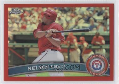 2011 Topps Chrome Red Refractor #74 - Nelson Cruz /25