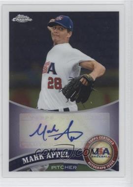 2011 Topps Chrome Redemption USA Baseball Collegiate National Team Autographs [Autographed] #USABB1 - Mark Appel