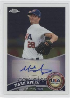 2011 Topps Chrome Redemption USA Baseball Collegiate National Team Autographs [Autographed] #USABB1 - Mark Appel