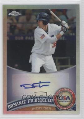 2011 Topps Chrome Redemption USA Baseball Collegiate National Team Refractor Autographs [Autographed] #USABB5 - Dominic Ficociello /199