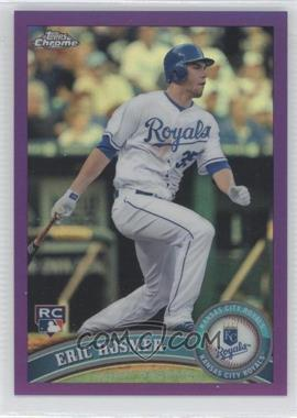 2011 Topps Chrome Retail Purple Refractor #170 - Eric Hosmer /499