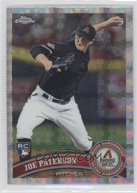 2011 Topps Chrome Retail X-Fractor #213 - Joe Paterson