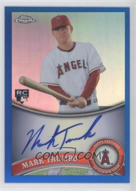 2011 Topps Chrome Rookie Autographs Blue Refractor [Autographed] #178 - Mark Trumbo /199