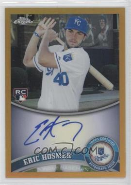 2011 Topps Chrome Rookie Autographs Gold Refractor [Autographed] #170 - Eric Hosmer /50