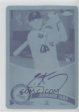2011 Topps Chrome Rookie Autographs Printing Plate Cyan [Autographed] #170 - Eric Hosmer /1