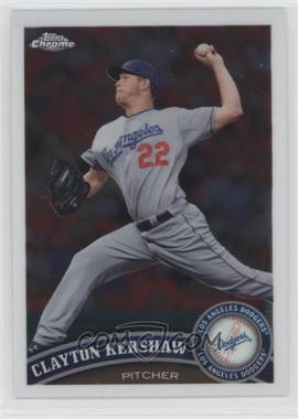 2011 Topps Chrome #107 - Clayton Kershaw