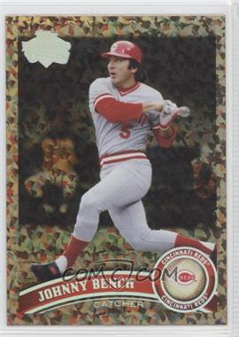 2011 Topps Cognac Diamond Anniversary #198.2 - Johnny Bench (Legends)