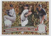 Felix Hernandez, Clay Buchholz, David Price