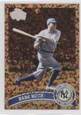 2011 Topps Cognac Diamond Anniversary #271 - Babe Ruth