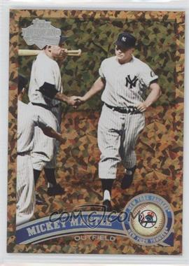 2011 Topps Cognac Diamond Anniversary #450 - Mickey Mantle