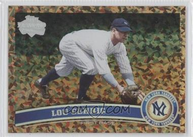 2011 Topps Cognac Diamond Anniversary #5 - Lou Gehrig