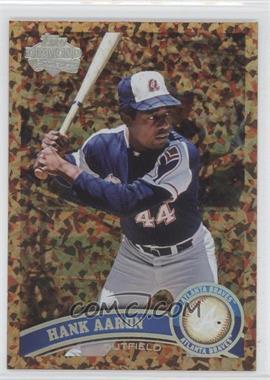 2011 Topps Cognac Diamond Anniversary #510 - Hank Aaron