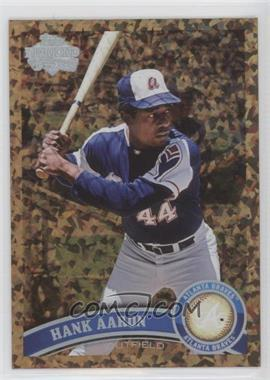 2011 Topps Cognac Diamond Anniversary #510.2 - Hank Aaron (Legends)