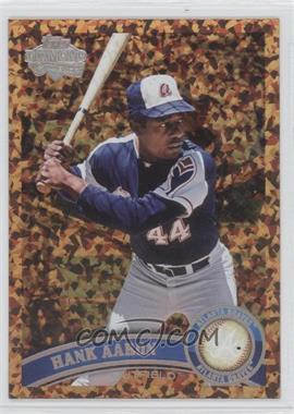 2011 Topps Cognac Diamond Anniversary #510.2 - Hank Aaron (Legends)
