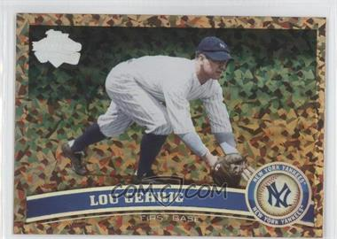 2011 Topps Cognac Diamond Anniversary #5.2 - Lou Gehrig (Legends)