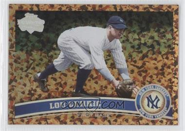 2011 Topps Cognac Diamond Anniversary #5.2 - Lou Gehrig (Legends)