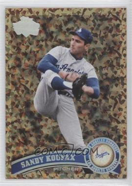 2011 Topps Cognac Diamond Anniversary #530.2 - Sandy Koufax (Legends)