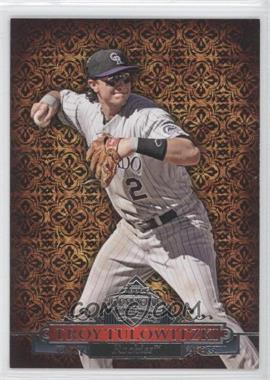 2011 Topps Diamond Anniversary #HTA-12 - Troy Tulowitzki