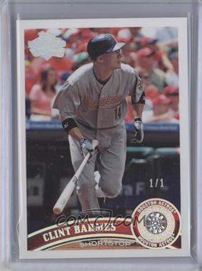 2011 Topps Diamond Dig Contest [Base] Diamond Collection Diamond #659 - Clint Barmes /1