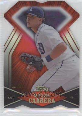 2011 Topps Diamond Dig Contest Diamond Die Cut Black Diamond #DDC-10 - Miguel Cabrera /60