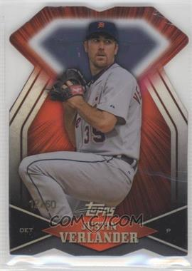 2011 Topps Diamond Dig Contest Diamond Die Cut Black Diamond #DDC-116 - Justin Verlander /60