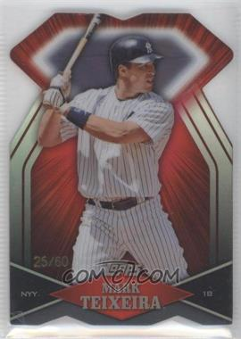 2011 Topps Diamond Dig Contest Diamond Die Cut Black Diamond #DDC-140 - Mark Teixeira /60