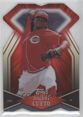 2011 Topps Diamond Dig Contest Diamond Die Cut Black Diamond #DDC-17 - Johnny Cueto /60