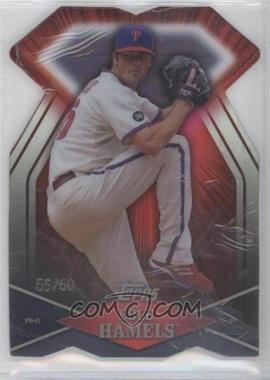 2011 Topps Diamond Dig Contest Diamond Die Cut Black Diamond #DDC-72 - Cole Hamels /60