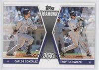 Carlos Gonzalez, Troy Tulowitzki