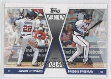 2011 Topps Diamond Duos Series 1 #DD-HF - Jason Heyward, Freddie Freeman