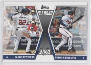 2011 Topps Diamond Duos Series 1 #DD-HF - Jason Heyward, Freddie Freeman