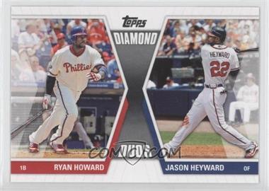2011 Topps Diamond Duos Series 1 #DD-HH - Ryan Howard, Jason Heyward