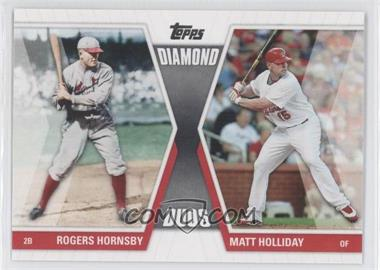 2011 Topps Diamond Duos Series 1 #DD-HHO - Rogers Hornsby, Matt Holliday