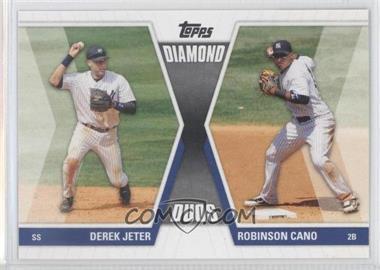 2011 Topps Diamond Duos Series 1 #DD-JC - Derek Jeter, Robinson Cano