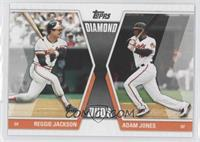 Reggie Jackson, Adam Jones
