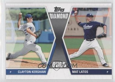 2011 Topps Diamond Duos Series 1 #DD-KL - Clayton Kershaw, Mat Latos