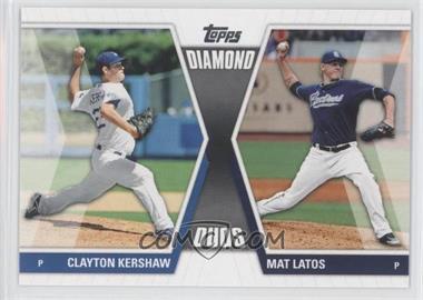 2011 Topps Diamond Duos Series 1 #DD-KL - Clayton Kershaw, Mat Latos