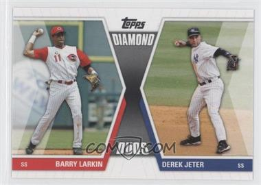 2011 Topps Diamond Duos Series 1 #DD-LJ - Barry Larkin, Derek Jeter