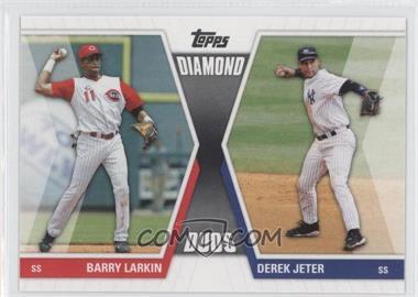 2011 Topps Diamond Duos Series 1 #DD-LJ - Barry Larkin, Derek Jeter