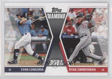 2011 Topps Diamond Duos Series 1 #DD-LZ - Evan Longoria, Ryan Zimmerman